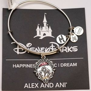Alex And Ani Cruella Schooled Cruel Silver Bangle